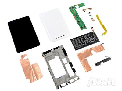Nexus 7 拆解秀登場,199美元內藏了什麼高階配料