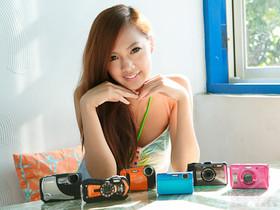 2012夏日防水相機大集合,6款相機評測、還有比基尼女孩實拍