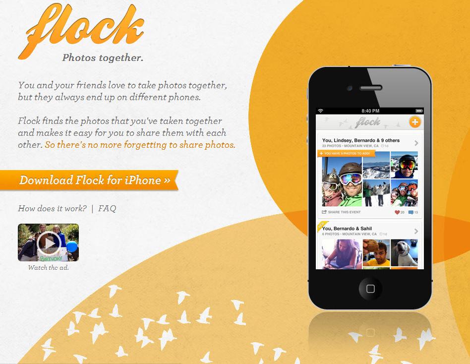 Bump 團隊最新力作 Flock :自動分享相片的神奇 iOS 軟體