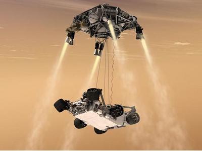 NASA 好奇號登陸火星現場直播,降落成功、回傳第一手照片