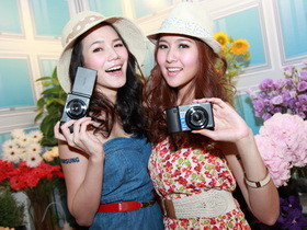 Samsung EX2F 在台發表會,WiFi 加持、小資女柯佳嬿代言