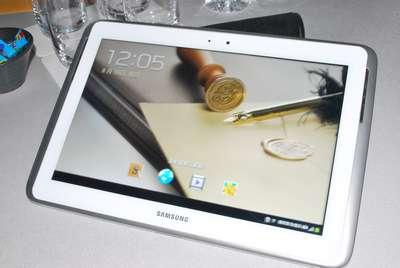 Samsung Galaxy Note 10.1 發表!高效平板小編現場動手玩