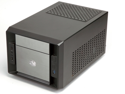 Cooler Master Elite 120 Advanced:Mini-ITX 機殼塞下 HD 5970 沒問題