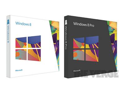 傳 Windows 8 Pro 零售版定價 199 美元、開賣限時促銷 69.99 美元