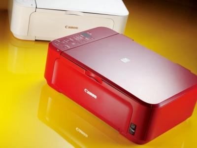 Canon PIXMA MG3170:與智慧手機連線列印、亮眼紅色的印表機