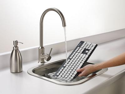 Logitech 推出可水洗鍵盤 K310,弄髒鍵盤、打翻飲料不用怕