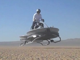 Hover Bike 懸浮車試飛成功,你也有機會當下一個天行者!