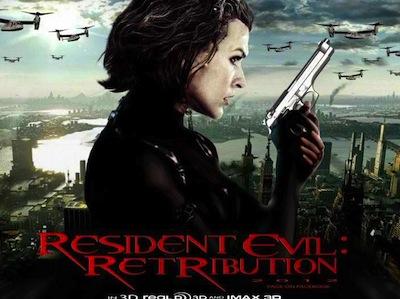 《惡靈古堡5-天譴日3D》驚嚇度再升級,還有預告片、主要演員介紹
