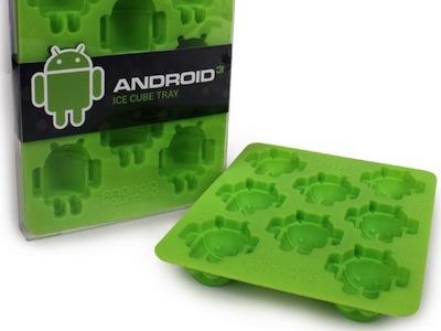 天氣還是很熱!自己做 Android 機器人冰塊吧!