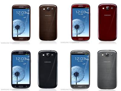 Samsung GALAXY S3 新色發表,你喜歡哪一種顏色?