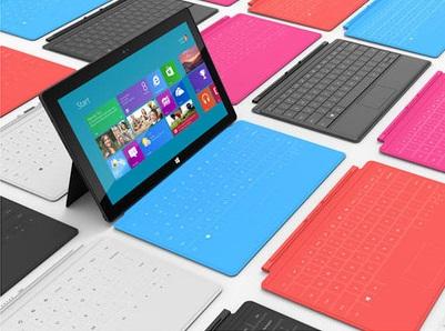 Windows RT 平板電腦蓄勢待發:Asus、Dell、Samsung、微軟牌登場