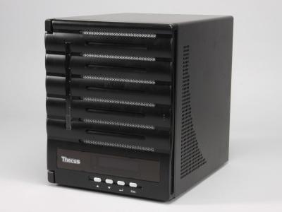 Thecus N5550 測試:5 Bay + HDMI 輸出,可直接放影片的儲存中心