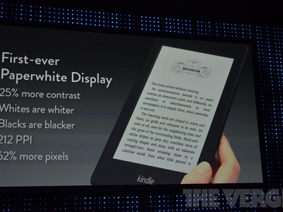 Amazon 發表新一代 Kindle Fire HD 和 Kindle Paperwhite,價格有夠殺