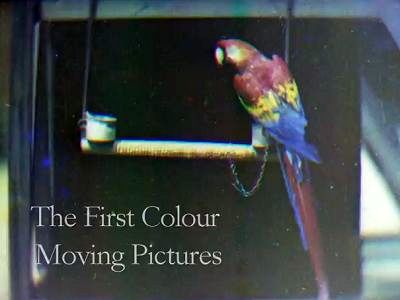 有史以來第一部彩色影片在英國被發現,距今 100年,如何重現內容?