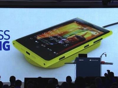 Nokia 向 Yahoo 員工喊話:免費手機選 Lumia 920,就送你無線充電板