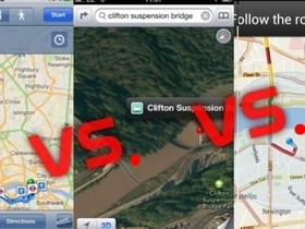 iOS 6 地圖、iOS 5 Google 地圖、 Android Maps 之地圖大亂鬥