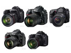 2012 全片幅 DSLR 規格比較,5D3、6D、D800、D600、A99 你選哪台?
