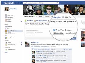 Facebook 社團加入 Dropbox 分享功能,分享檔案更容易