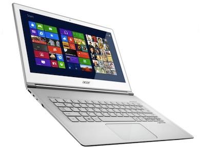 Windows 8 Ultrabook 開戰在夕,Acer Aspire S7 搶在 10月26日開賣