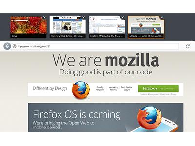 Firefox Metro 預覽版開放下載,搶先在 Windows 8 上體驗!