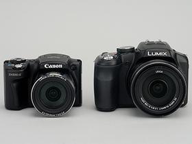 高倍率變焦相機 PK 賽,Panasonic FZ200、Canon SX500 IS 評測