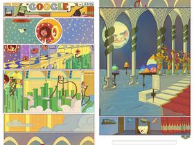 Google Doodle 紀念「小尼莫夢境歷險」首刊107年,下拉式漫畫登場