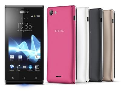 Sony Xperia J 國民機上市,整合 Facebook 聯絡人功能,售價 8,990 元