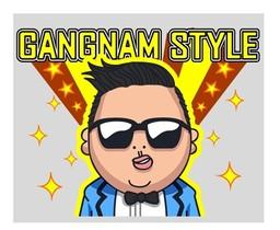 全球人氣王PSY現身LINE Style!