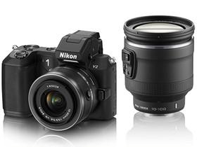 Nikon 1 V2 專業級微單眼登場:全新造型、高速連拍再進化