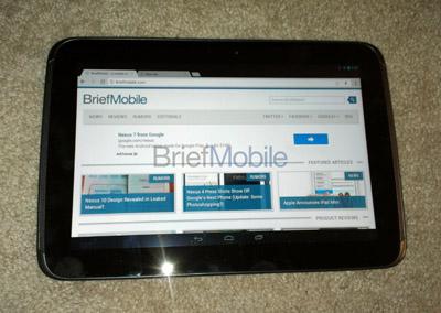 Nexus 10 平板完整流出,A15 雙核心、2GB Ram 與超高解析度
