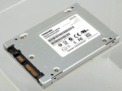 Toshiba THNSNS240GBSP:自有品牌 SSD 首度登台