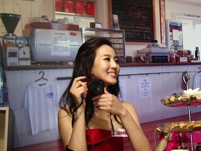 Canon EOS M 迷你單眼上市!張鈞甯加持的新機發表會