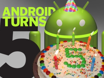 Android 作業系統 5 歲了!一起來回顧它的成長