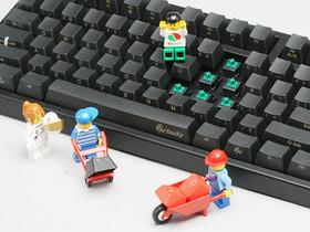 Ducky  DK9008G2 Pro 綠軸鍵盤開箱,超硬派限量100把松鼠收藏物