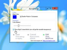 找回 Windows 8 消失的 Aero 特效,Aero8Tuner 工具幫你達成