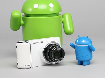 Samsung Galaxy Camera 評測:相機、手機跨界,打造全新玩法