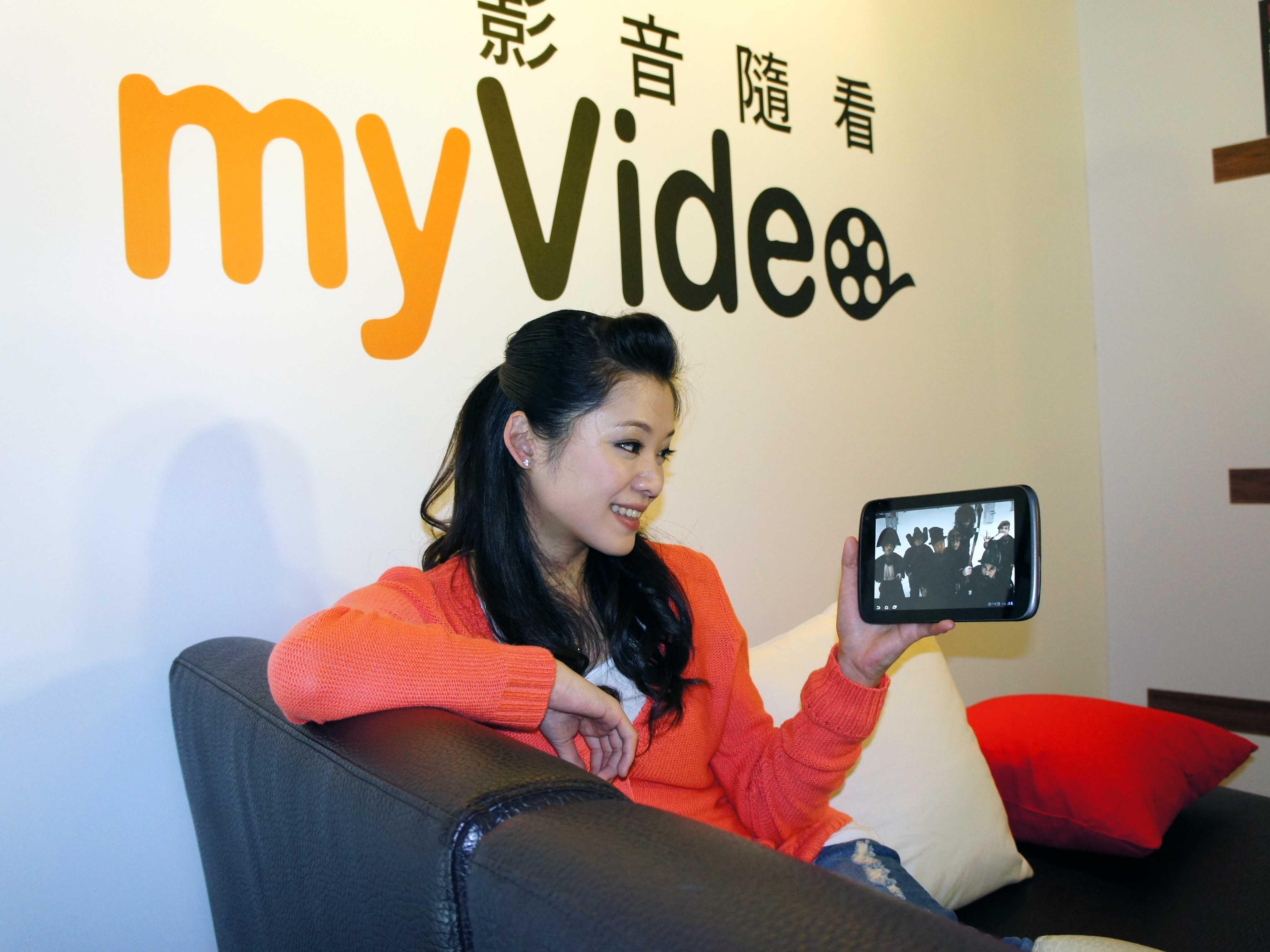 台哥大發表線上租片平台 MyVideo,租片39元起、手機 App 還能當遙控器