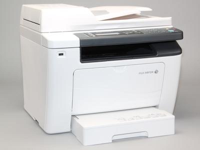 富士全錄 DocuPrint M255 z 評測:功能更多、列印更快的 S-LED 複合機