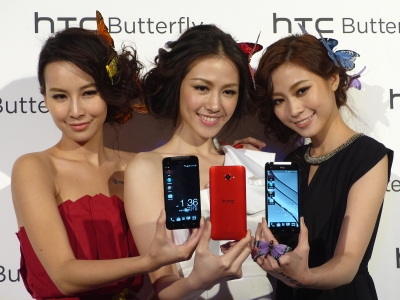 HTC Butterfly 上市!5 吋 Full HD 大螢幕,記者會現場實拍、實測