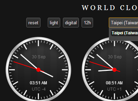 美國、歐洲現在幾點了?在 Chrome 瀏覽器裡面顯示世界時鐘馬上查