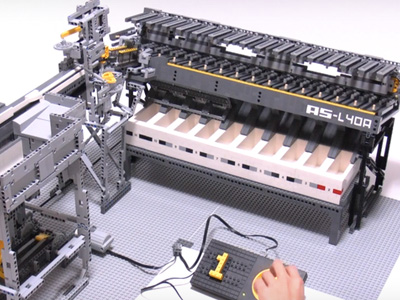LEGO 自動分類機,只要你是 LEGO 迷都絕對想來一台