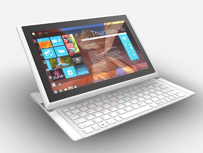 msi 推滑蓋  Windows 8 可變形筆電  Slider S20,也能變平板