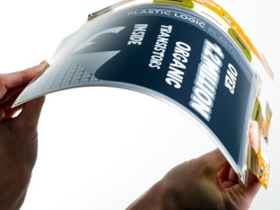 Paper Tab 紙平板將現身 CES 2013 , 可彎曲、多工拼成大螢幕!