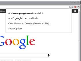 在 Chrome 瀏覽器裡面,自動清理特定網站的 cookie 資訊