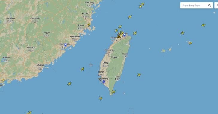 觀察飛機軌跡、即時航班追蹤,用planefinder 即時掌握全球飛航動態