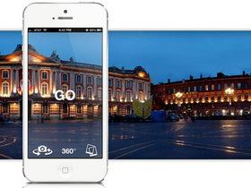 iPhone 神奇自轉 App,Cycloramic 自動 360 度拍全景