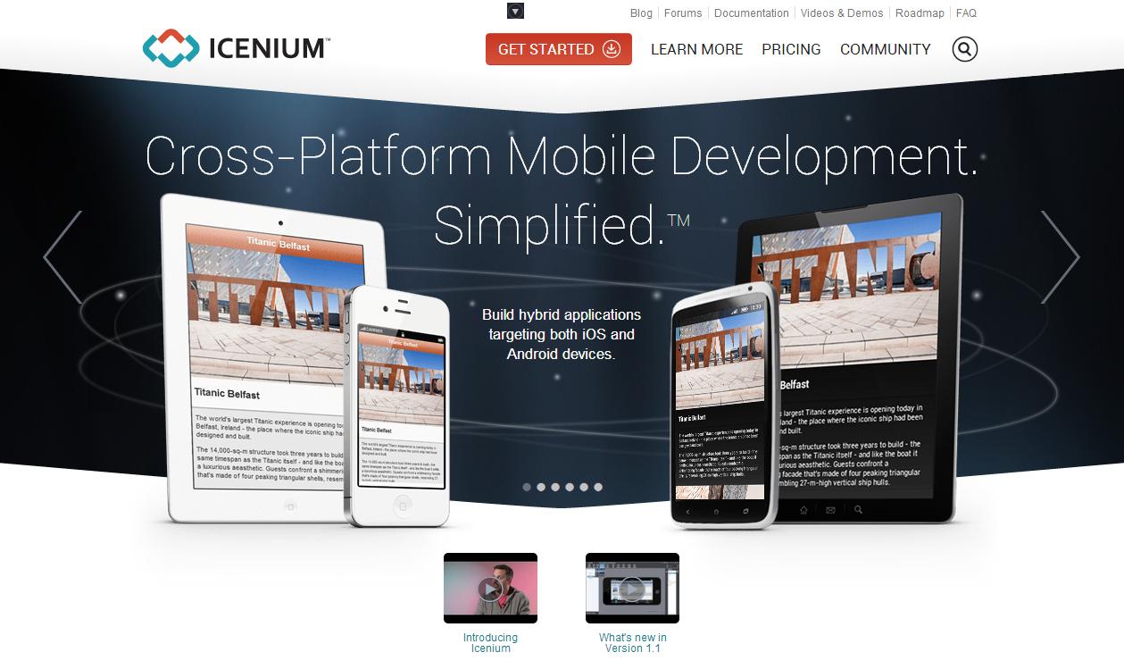 Icenium 雲端跨平台手機程式開發,不用裝 SDK、免費用到 5/1