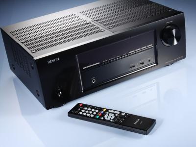 DENON AVR-1713 AV環繞擴大機:能直接收聽網路電台、支援 AirPlay、手機 App 遙控