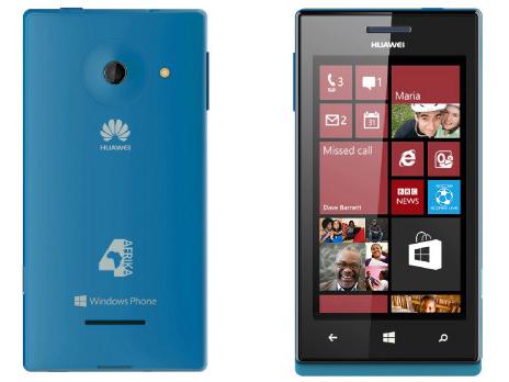 微軟、Huawei 聯手推出入門 Windows Phone 8 搶進非洲市場