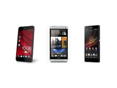 HTC One、Butterfly、Xperia Z 規格比一比